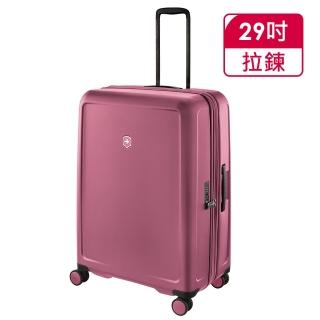 【VICTORINOX 瑞士維氏】CONNEX 可擴充29吋硬殼行李箱(櫻花粉 610492)