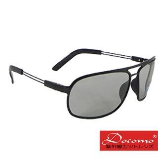 【Docomo】全新專業級感光變色款  頂級偏光+超感光變色鏡片  質感有型  超輕量材質  配戴無負擔