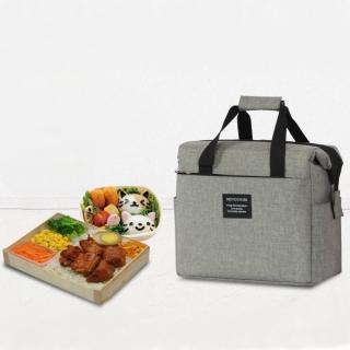 【Bunny】微時尚牛津布多功能保溫袋野餐袋便當袋媽咪包(限量款)