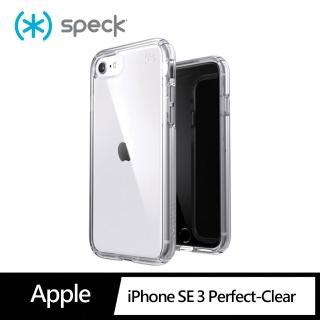 【Speck】iPhone SE 第2代 Presidio Perfect-Clear 抗菌透明防摔殼(防摔保護殼)