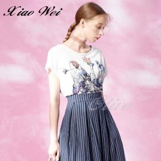【CHENG DA】專櫃精品春夏款時尚短袖上衣(NO.513027)