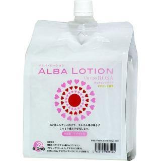 【A-ONE】日本A-one-Alba Lotion 軟袋裝補充包潤滑液 1L(情趣用品.潤滑液)