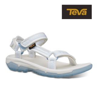 【TEVA】原廠貨 女 Hurricane XLT2 Frost 水晶底機能運動涼鞋/雨鞋/水鞋(白-TV1106848WHT)