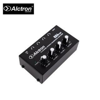 【ALCTRON】HA4 PLUS 四路耳機訊號分配器(台灣公司貨 商品保固有保障)