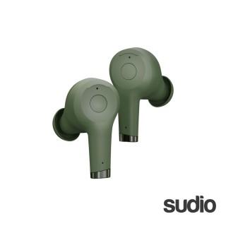 【Sudio】瑞典設計 真無線抗噪藍牙耳機(ETT / 綠)