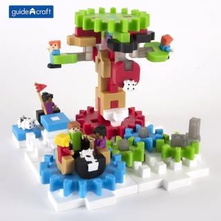 【GuideCraft】頂尖建構積木-齒輪挑戰(STEAM玩具)