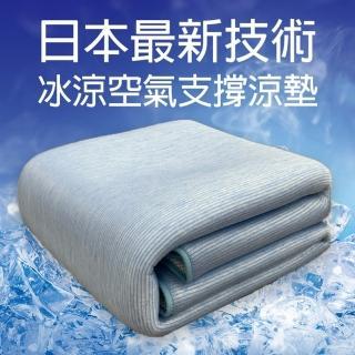 【名流寢飾】ROYAL DUCK.冰晶透氣水洗涼墊(單人)