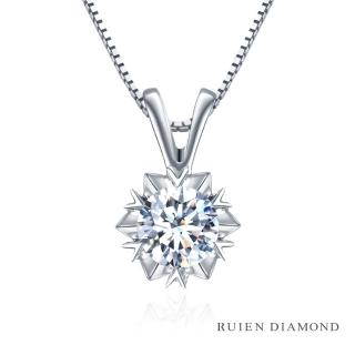 【RUIEN DIAMOND 瑞恩鑽石】GIA50分 D VS2 3EX(18K白金 鑽石項墜 RN39)