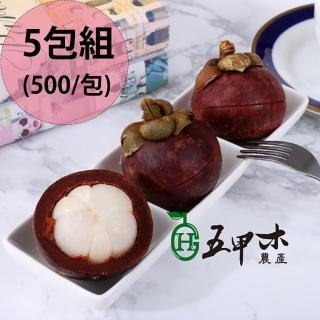 【五甲木】泰國極鮮冷凍山竹5包(500g/包)