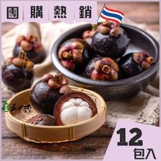 【五甲木】泰國極鮮冷凍山竹12包(500g/包)