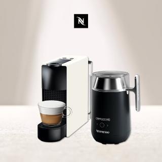 【Nespresso】膠囊咖啡機 Essenza Mini Barista咖啡調理機組合(贈頂級咖啡體驗組)