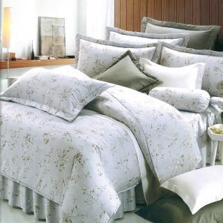 【Carolan】精梳棉  五件式兩用被床罩組 夏之戀(雙人)