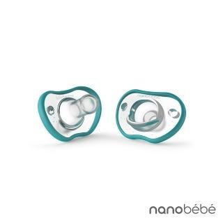 【nanobebe】全矽膠安撫奶嘴(2入)