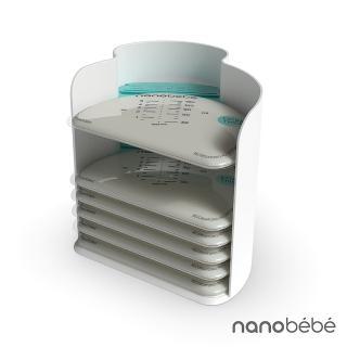 【nanobebe】母乳保鮮袋整理架(附母乳袋 25 入)