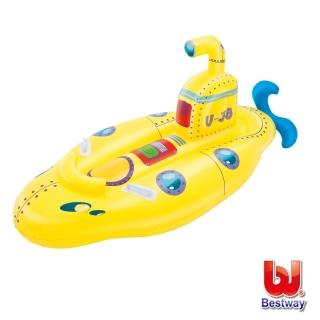 【BESTWAY】Bestway。兒童充氣潛水艇造型坐騎