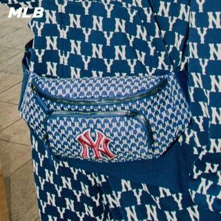 【MLB】腰包 MONOGRAM老花系列 紐約洋基隊LOGO(五色任選)