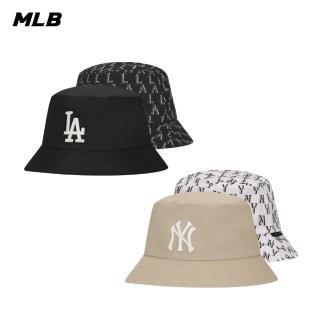【MLB】老花雙面花色系列洛杉磯道奇隊漁夫帽(32CPH4011-07L)