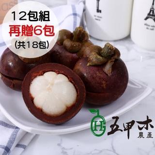 【五甲木-買12送6(共18包)】泰國極鮮冷凍山竹12+6包(500g/包)