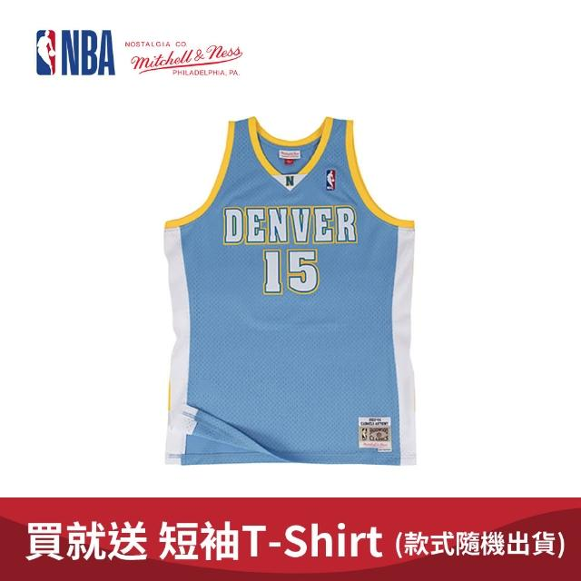 【NBA】M&N Mitchell & Ness 復古球衣 SW 球迷版 CARMELO ANTHONY #15 金塊隊 03-04 客場(MNSWJ-G2116DR)