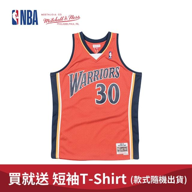 【NBA】M&N Mitchell & Ness 復古球衣 SW 球迷版 STEPHEN CURRY #30 勇士隊 09-10 異色 柯瑞(MNSWJ-G241L)