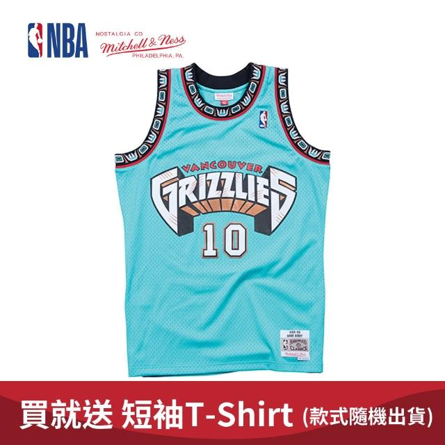 【NBA】M&N Mitchell & Ness 復古球衣 SW 球迷版 MIKE BIBBY #10 灰熊隊 98-99 客場(MNSWJ-G286HT)