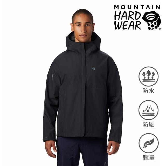 【Mountain Hardwear】Exposure2 Gore-Tex Paclite Jacket GTX輕量防水外套 男款 深風暴灰 #1882081