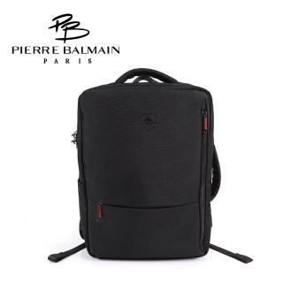 【PB 皮爾帕門】多功能電腦後背包(防盜+充電埠+三用背法)