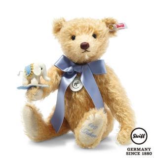 【STEIFF】140週年紀念泰迪熊 Teddy Bear with Little Felt Elephant(限量版)