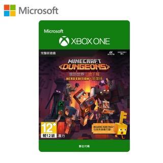 【Microsoft 微軟】我的世界地下城  Xbox One 英文英雄版 下載版(購買後無法退換貨)