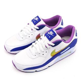 【NIKE 耐吉】AIR MAX 90 SE 白紫 男休閒鞋(CT3623100)
