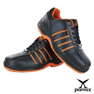 【PAMAX 帕瑪斯】高抓地力安全鞋超彈力氣墊★休閒機能、工作鞋、鋼頭鞋(PA4225FEH /男女)