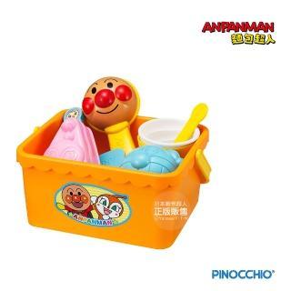 【ANPANMAN 麵包超人】一起來玩沙!麵包超人沙堆甜點玩具組
