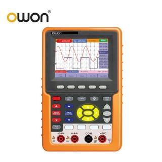 【OWON】手持式20MHz雙通道數位示波器/萬用表/頻率計三合一 HDS1022M-N(示波器 萬用表 頻率計)