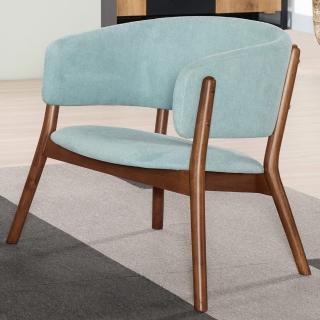 【BODEN】莫雷實木扶手餐椅/單椅/休閒椅/洽談椅