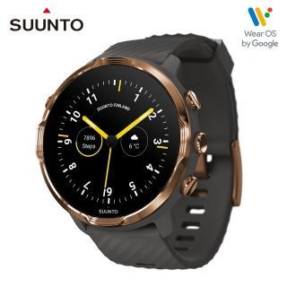 【SUUNTO】Suunto 7 結合豐富的戶外運動與智慧生活功能於一體的GPS腕錶(石墨灰 復古銅)