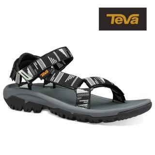 【TEVA】原廠貨 女 Hurricane XLT2 機能運動涼鞋/雨鞋/水鞋(黑查拉布萊克-TV1019235CRBLC)