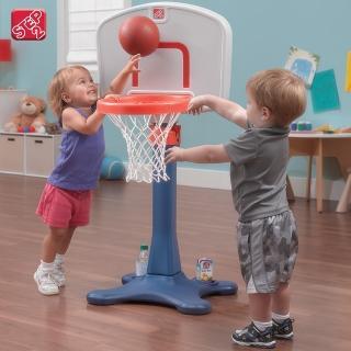 【STEP2】成長籃球架(可調式籃球架)