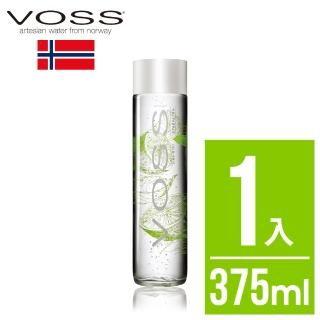 【VOSS 芙絲】萊姆薄荷風味氣泡水(玻璃瓶375ml)