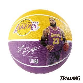 【SPALDING】斯伯丁 NBA 球員球 18-19 湖人 詹姆士 LeBron(湖人 詹姆士 LeBron)