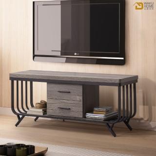 【德泰傢俱】傑恩斯灰橡木簡約 4尺電視櫃 A005-313