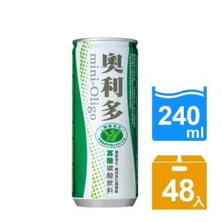 【金車】奧利多碳酸飲料240ml 24罐x2箱(共48入)