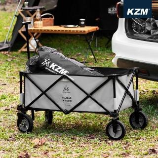 【KAZMI】KZM 多功能露營折疊手拉車