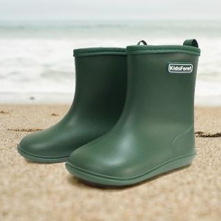 【日本Kids Foret】兒童雨鞋(B81824GR 軍綠色)