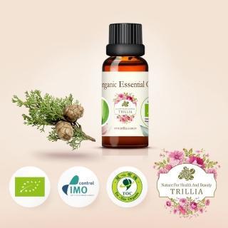【Trillia】雙有機NANFY絲柏精油(30ml)