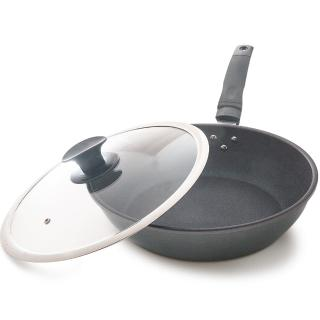 【台灣好鍋】優瓷3代 陶瓷不沾平底鍋(30cm)