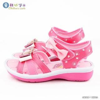 【童鞋城堡】氣質優雅涼鞋 偶像學園(ID4400-桃)