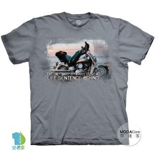 【摩達客】美國進口The Mountain重機人生 純棉環保藝術中性短袖T恤(現貨)
