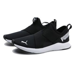【PUMA】休閒鞋 PROWL SLIP ON 黑 網布 襪套式 運動 女(19307801)