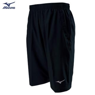 【MIZUNO 美津濃】男款彈性平織短褲 32TB8A0109(黑)(短褲)