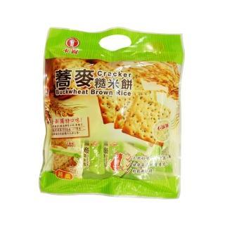 【卡賀】蕎麥糙米餅300g(卡賀 蘇打餅 餅乾 休閒食品)
